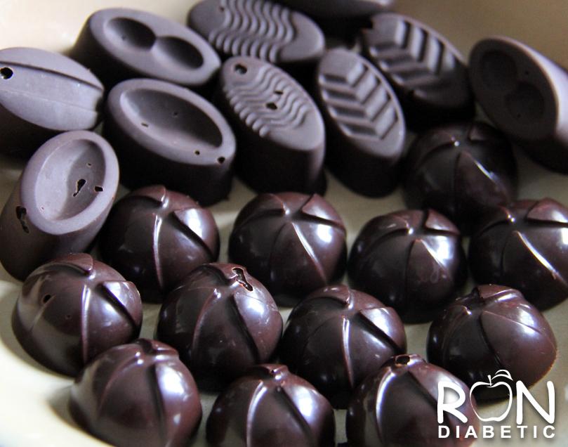 Домашнии шоколадные конфеты без сахара