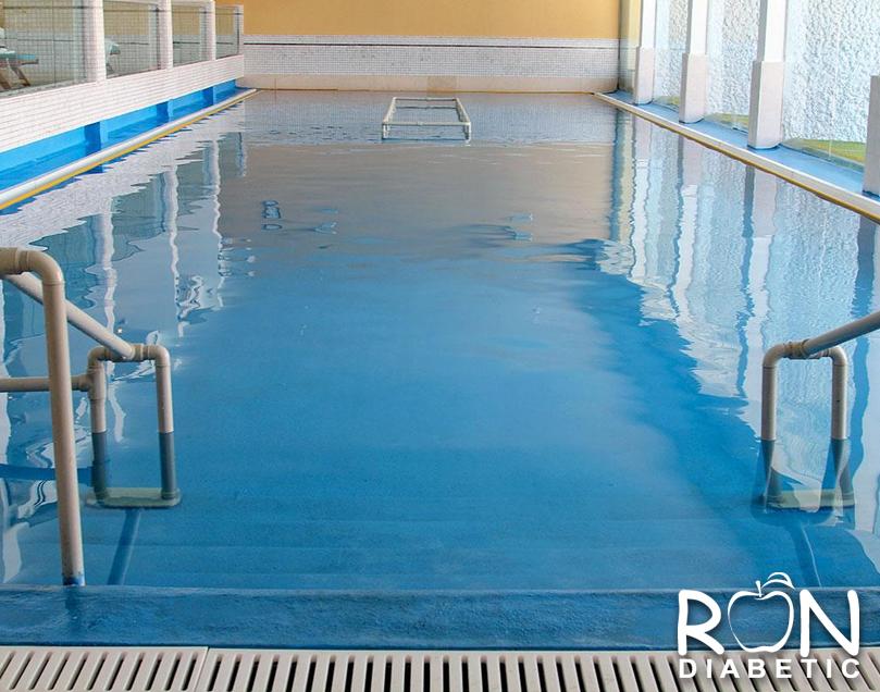 Закрытый, подогреваемый бассейн с водой Мертвого моря
