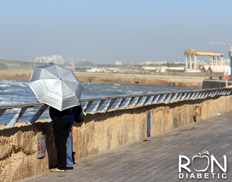 Удобное место для романтической прогулки. Старый порт. Тель-Авив
