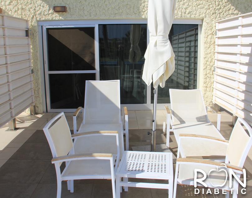Номер в отеле HERODS на нижнем этаже с эксклюзивным доступом к террасе и частному бассейну