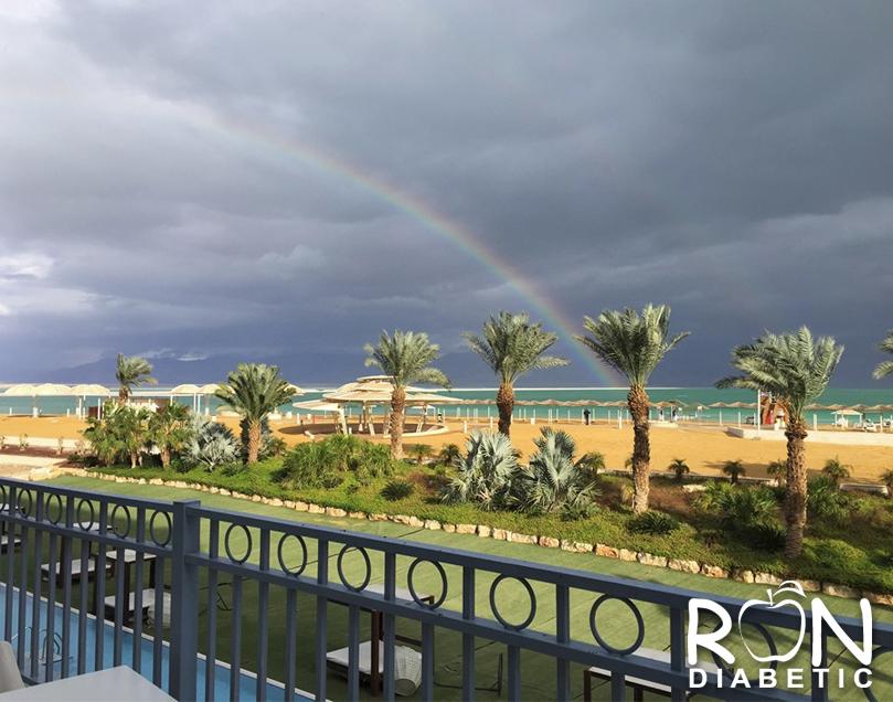 Мертвое море. 1-е января 2016 г.
