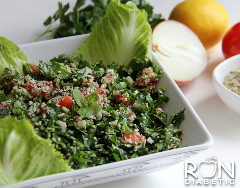 Рецепт сыроедческого салата Табули (Tabbouleh)