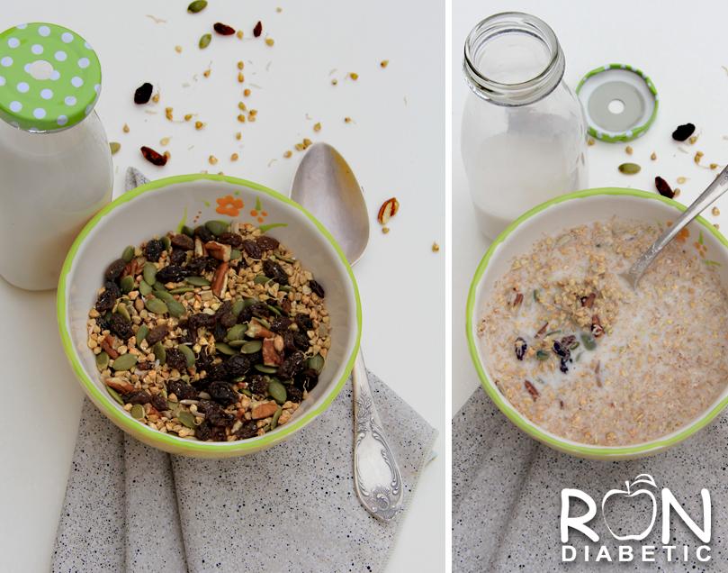 Вкусный и полезный завтрак на скорую руку: домашние мюсли