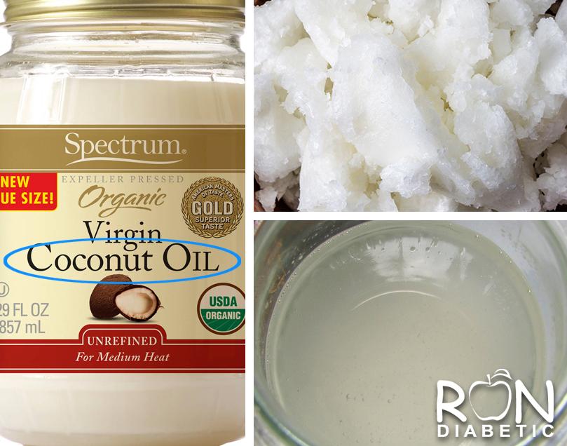 Нерафинированное кокосовое масло (жир, refined coconut oil)