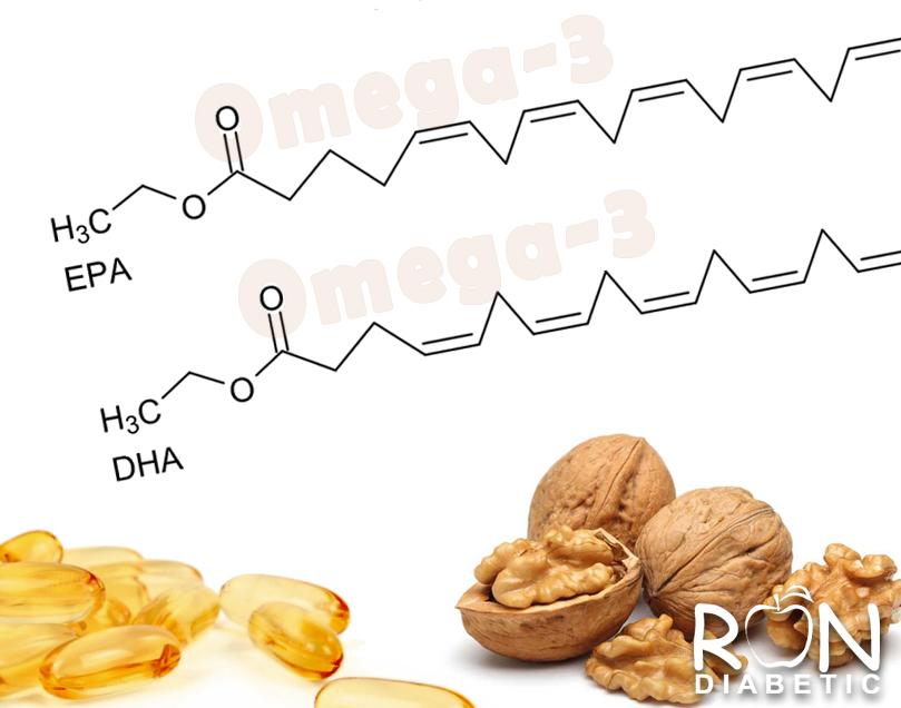 Нехватка незаменимых жирных кислот омега-3 и сахарный диабет