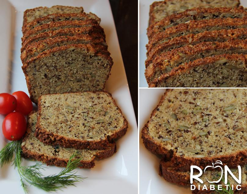 Вкусный безглютеновый хлеб - рецепт