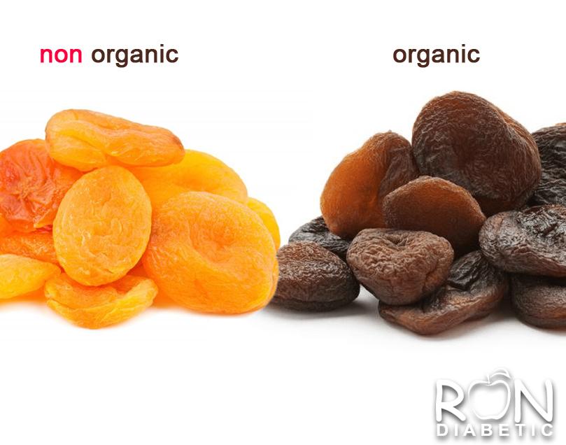Сухофрукты, которые вы покупаете в магазине бывают 2-х видов - органические и неорганические.
