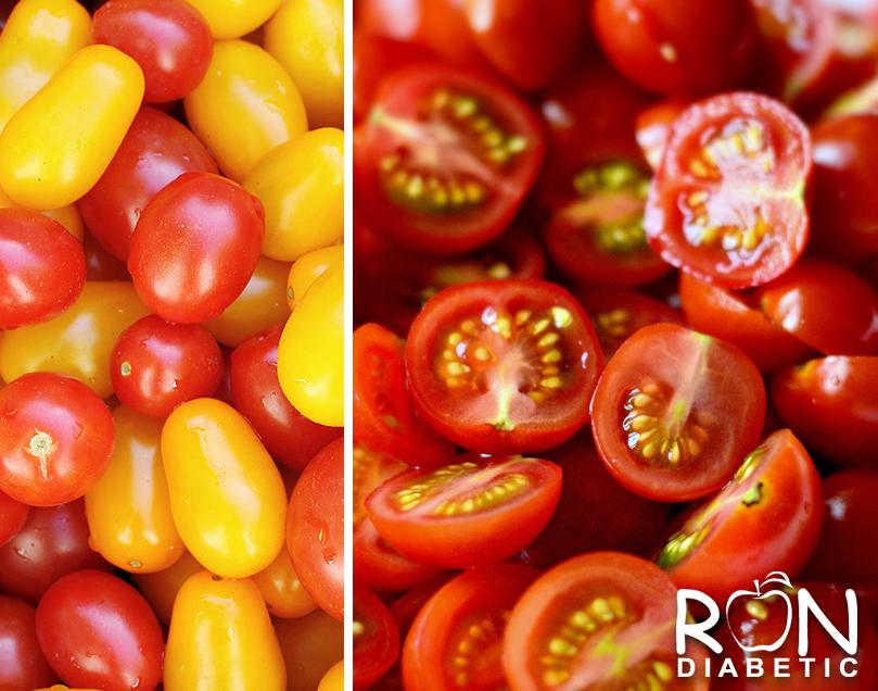 Быстрый и очень простой способ нарезать помидоры черри