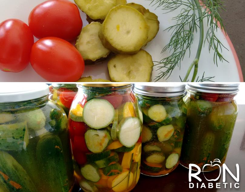 Малосольное овощное ассорти без стерилизации и без сахара в холодной воде