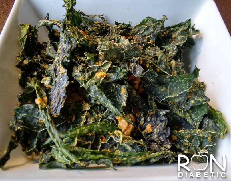 Хрустящие и полезные чипсы из листовой капусты кале