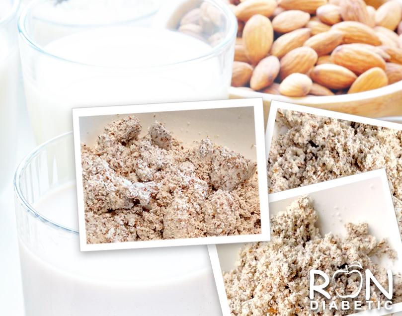 Как использовать жмых от миндального молока