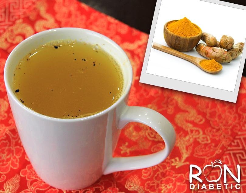 Чай с куркумой для повышения иммунитета - рецепт